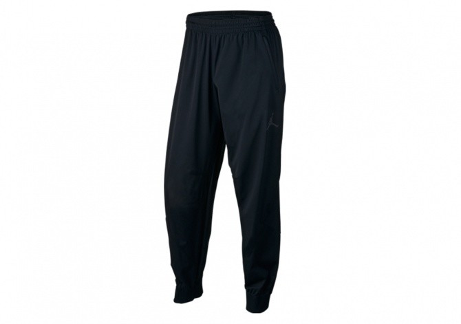 NIKE AIR JORDAN FLIGHT OUTDOOR PANTS BLACK