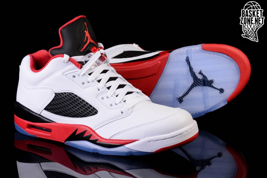 100% authentic 075fb 4d2e8 best price nike air jordan 5 retro low fire red 68271 bab5b