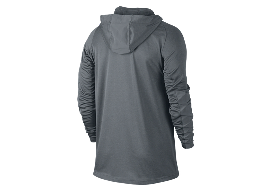 premium selection 6ad8b 92e96 NIKE HYPER ELITE HOODED SHOOTER COOL GREY
