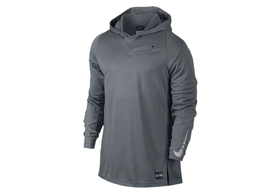 lowest price 54151 1bba4 NIKE HYPER ELITE HOODED SHOOTER COOL GREY price €47.50   Basketzone.net