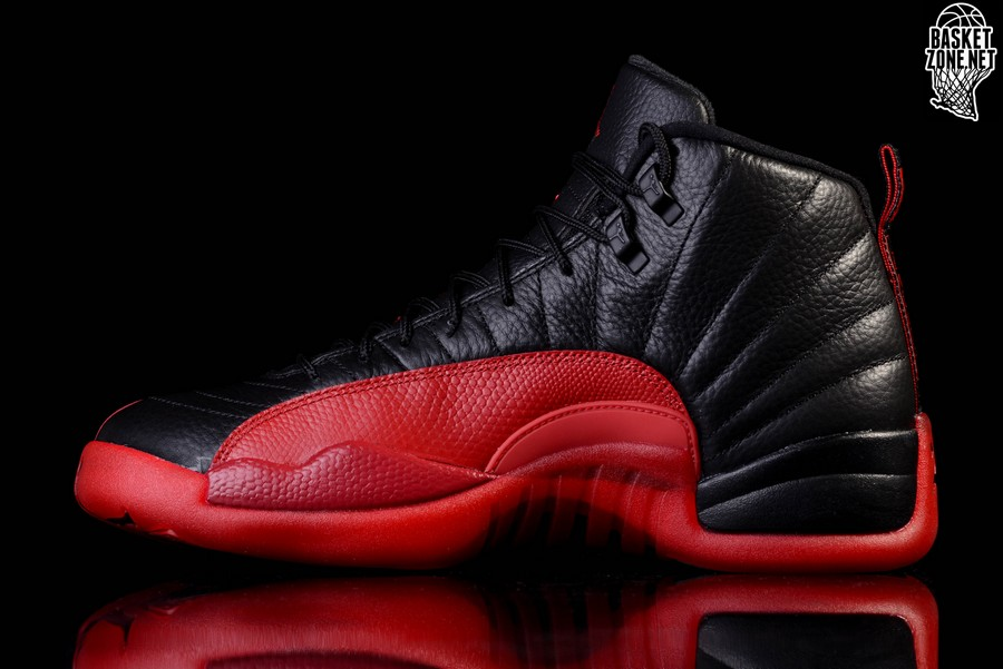 9130419cb48224 NIKE AIR JORDAN 12 RETRO FLU GAME BG (SMALLER SIZE) price €115.00 ...