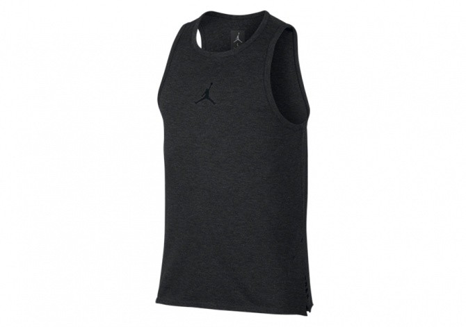 NIKE AIR JORDAN 23 TECH TANK BLACK HEATHER
