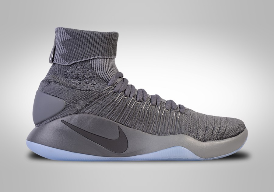 newest 8933c 8b035 ... coupon for nike hyperdunk 2016 flyknit cool grey 7fb1e 159b5