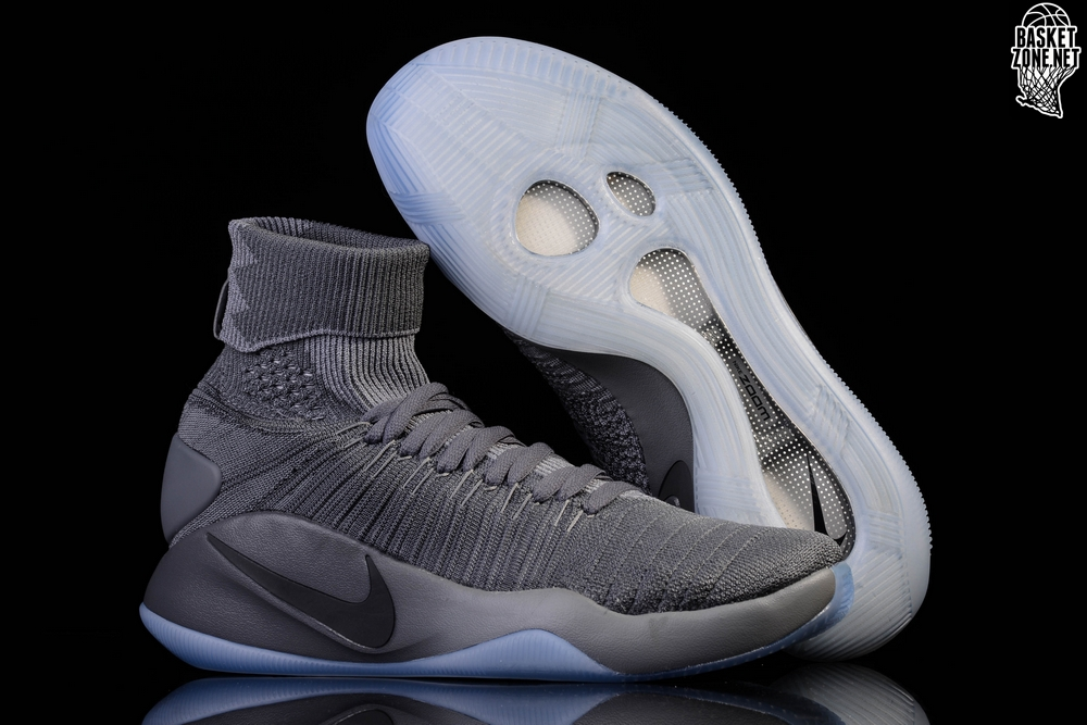 save off 270ef 9f58b NIKE HYPERDUNK 2016 FLYKNIT COOL GREY