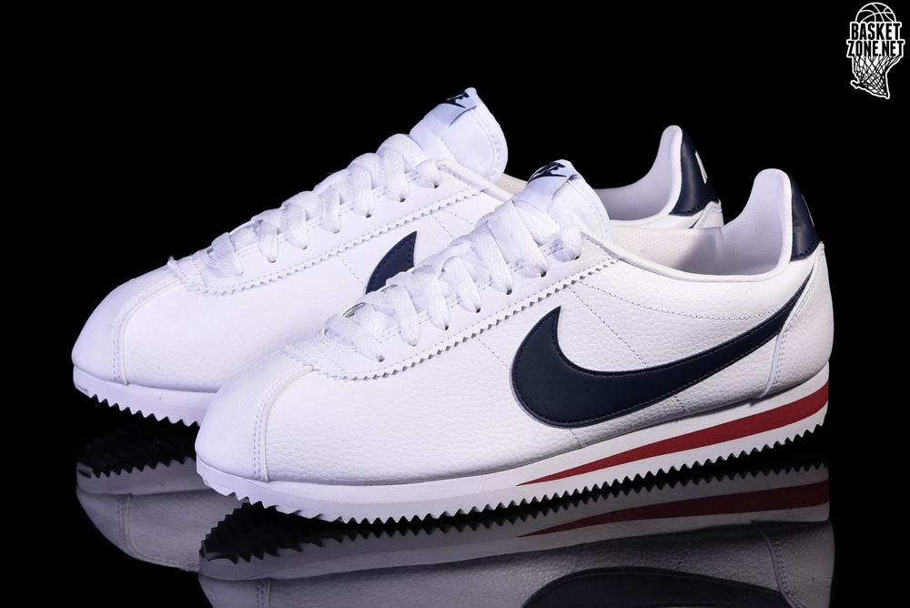 official photos 608f5 89397 reduced navy blue leather nike cortez 269a4 302ca