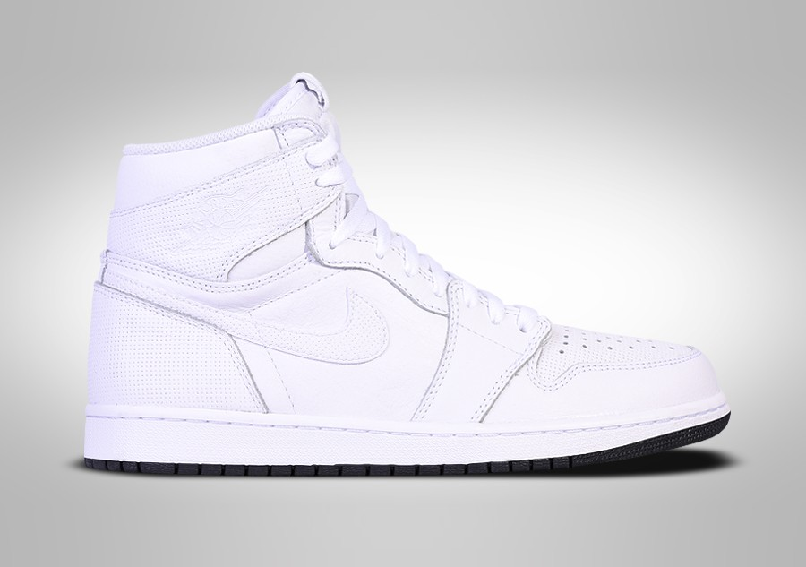 9d9b6cfeee212c NIKE AIR JORDAN 1 RETRO HIGH OG WHITE PERFORATED PACK price €115.00 ...