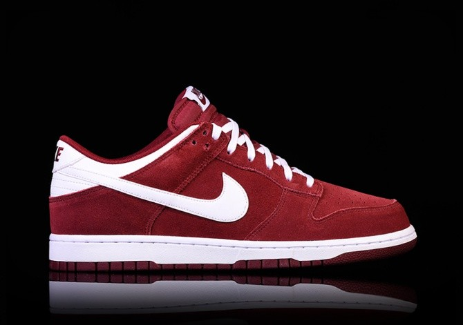 newest e50bf d7e86 NIKE DUNK LOW TEAM RED