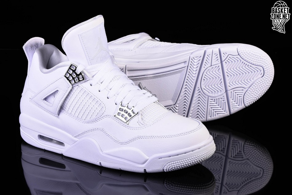 on sale 6d4f9 6e250 NIKE AIR JORDAN 4 RETRO PURE MONEY