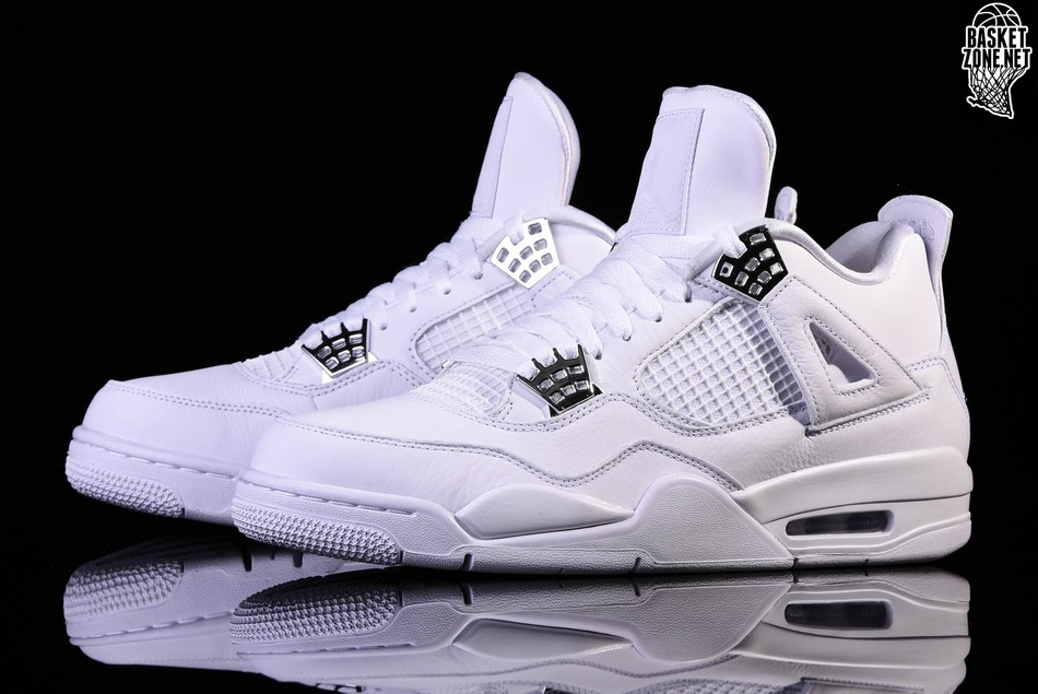 on sale 2ad83 98be8 NIKE AIR JORDAN 4 RETRO PURE MONEY