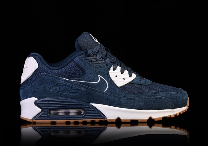 new products 47f3d 403e6 NIKE AIR MAX 90 PREMIUM ARMORY NAVY price €135.00  Basketzon