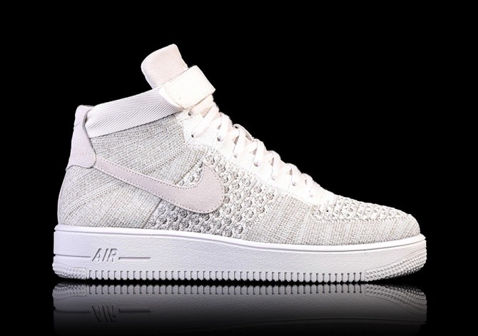 save off 53e2b e8b95 NIKE AIR FORCE 1 ULTRA FLYKNIT MID SAIL price €122.50 ...