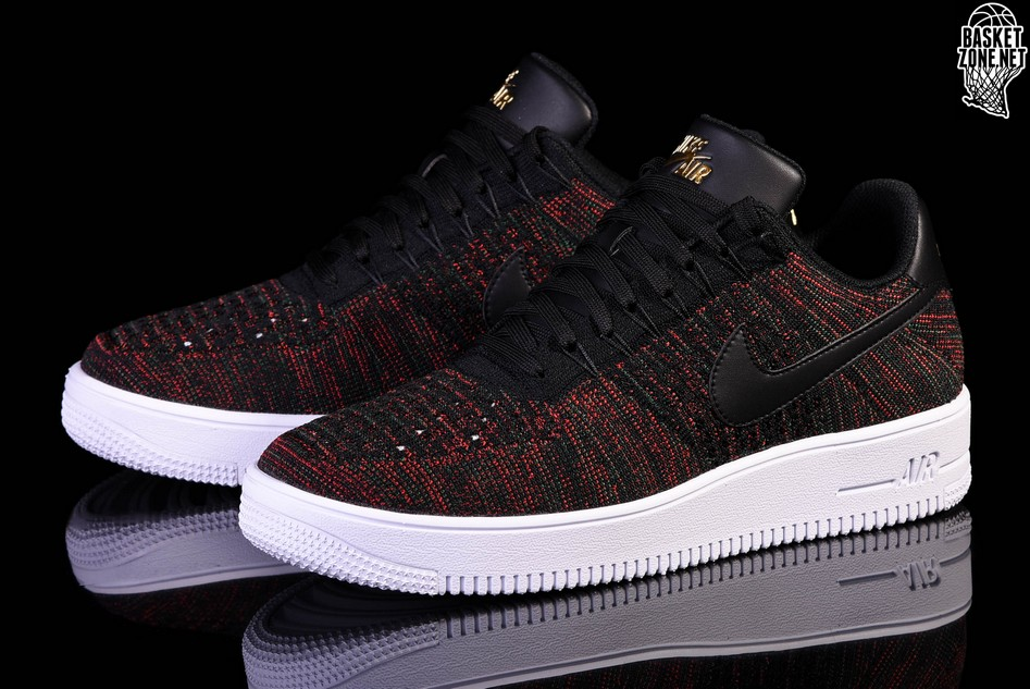 lower price with 745b1 986bd NIKE AIR FORCE 1 ULTRA FLYKNIT LOW BLACK