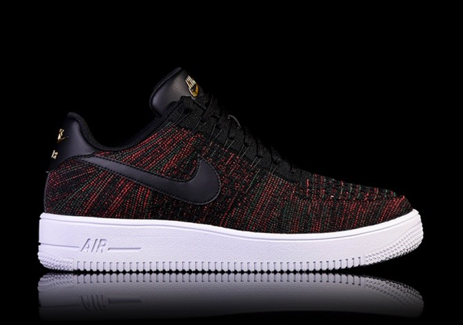 022d7a3351eb NIKE AIR FORCE 1 ULTRA FLYKNIT LOW BLACK price €122.50