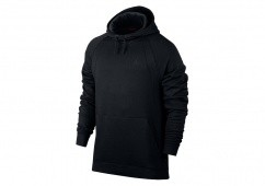 NIKE AIR JORDAN SPORTSWEAR WINGS FLEECE HOODIE BLACK