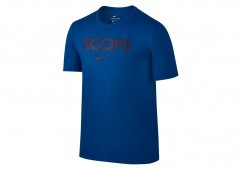 NIKE DRY JUST HOOPS TEE BLUE JAY