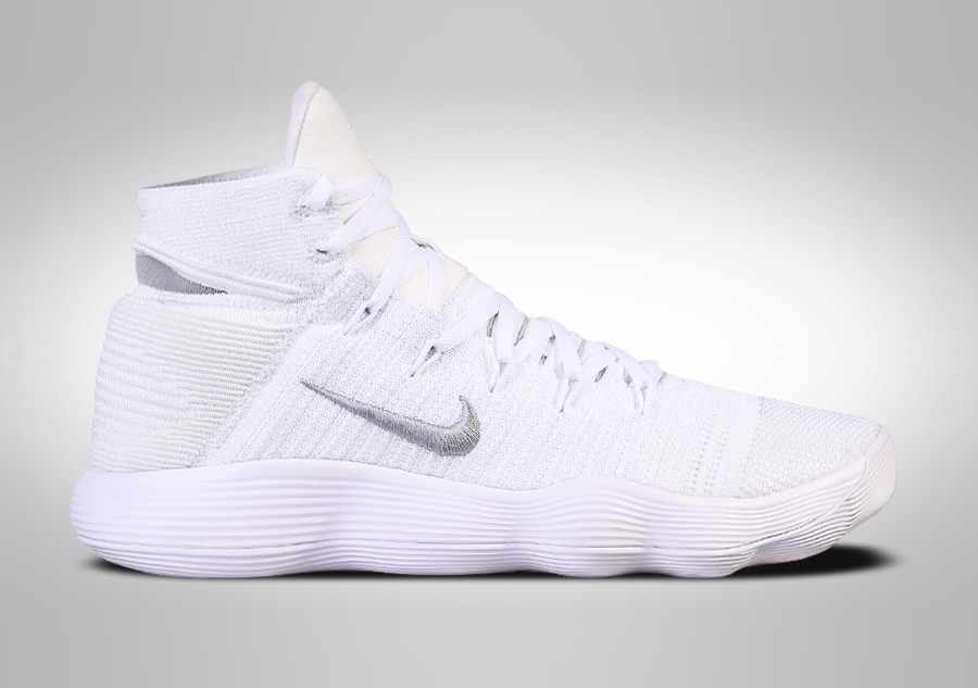 new product 95dcc 2a33b NIKE HYPERDUNK 2017 FLYKNIT TRIPLE WHITE