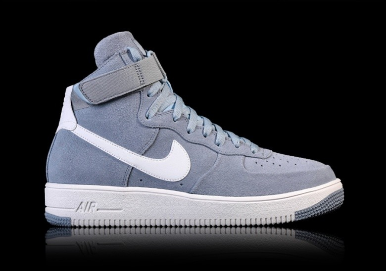 new concept 5f8d5 310c2 NIKE AIR FORCE 1 ULTRAFORCE HIGH GLACIER GREY