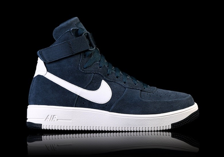 the latest 5258d be044 NIKE AIR FORCE 1 ULTRAFORCE HIGH ARMORY NAVY