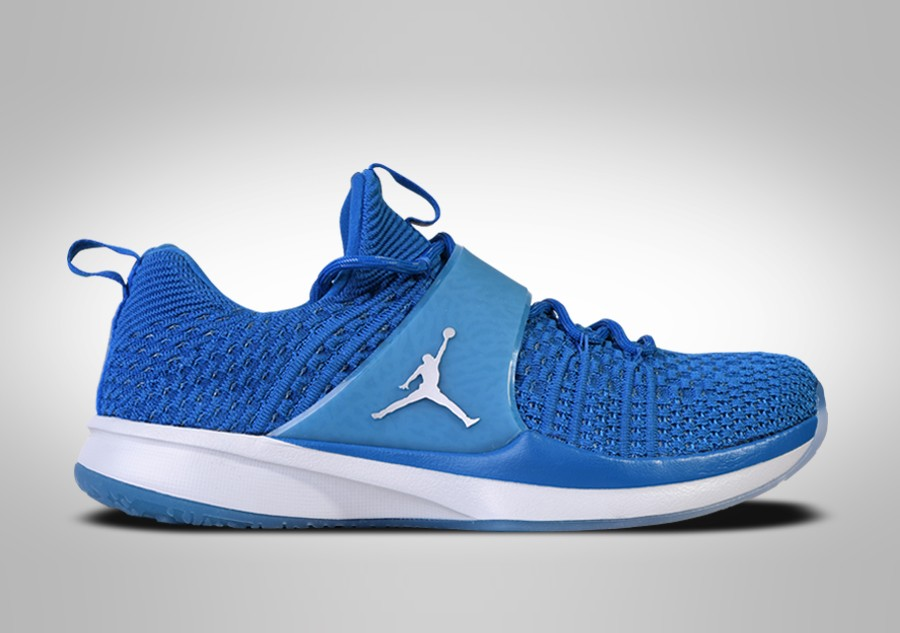 brand new 66090 a70e8 ... coupon code for nike air jordan trainer 2 flyknit military blue 3179a  b19e4