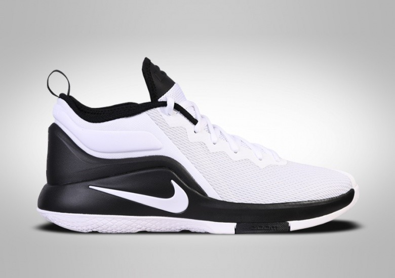 NIKE LEBRON WITNESS II WHITE BLACK