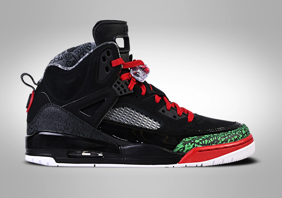 0986f043137941 NIKE AIR JORDAN SPIZIKE BLACK RED POISON GREEN price €142.50 ...