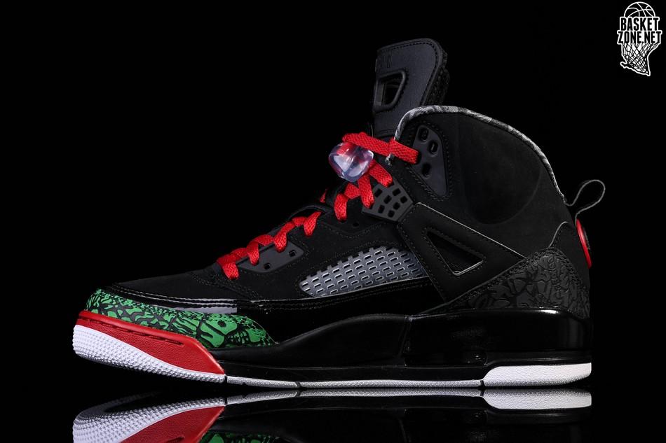 sports shoes 32e8b d448e NIKE AIR JORDAN SPIZIKE BLACK RED POISON GREEN