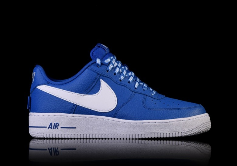 outlet store 1482a 0e7f7 NIKE AIR FORCE 1  07 LV8 NBA PACK GAME ROYAL