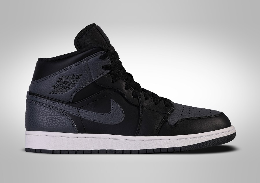 new product 98891 e1eee NIKE AIR JORDAN 1 RETRO MID ATTRACTIVE TUMBLED LEATHER. 554724-041