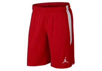 NIKE AIR JORDAN DRI-FIT 23 ALPHA TRAINING SHORTS UNIVERSITY RED