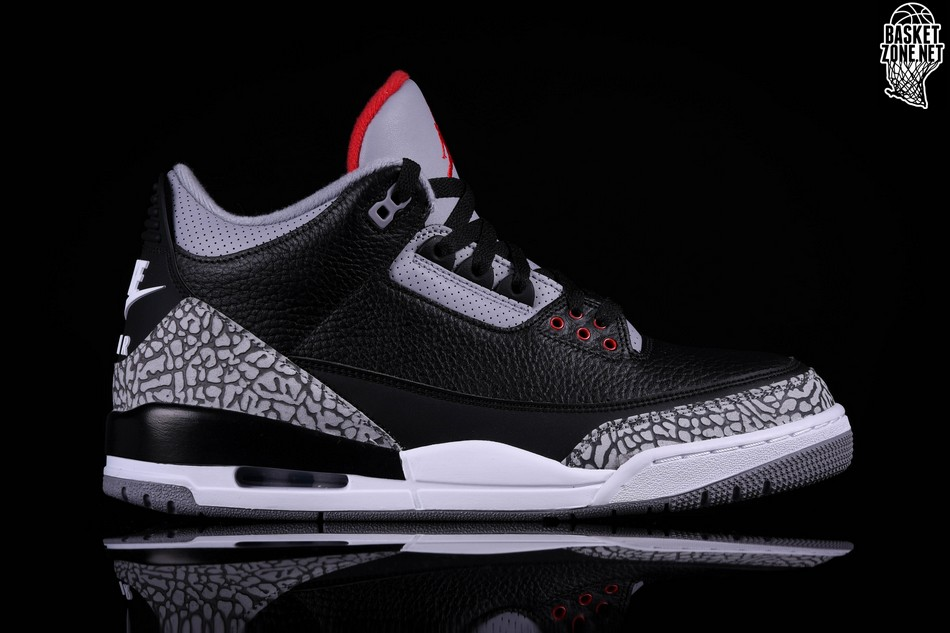 new style 81cd8 f725a ... ireland nike air jordan 3 retro black cement 12082 78585