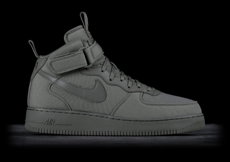 nike air force 1 mid gris