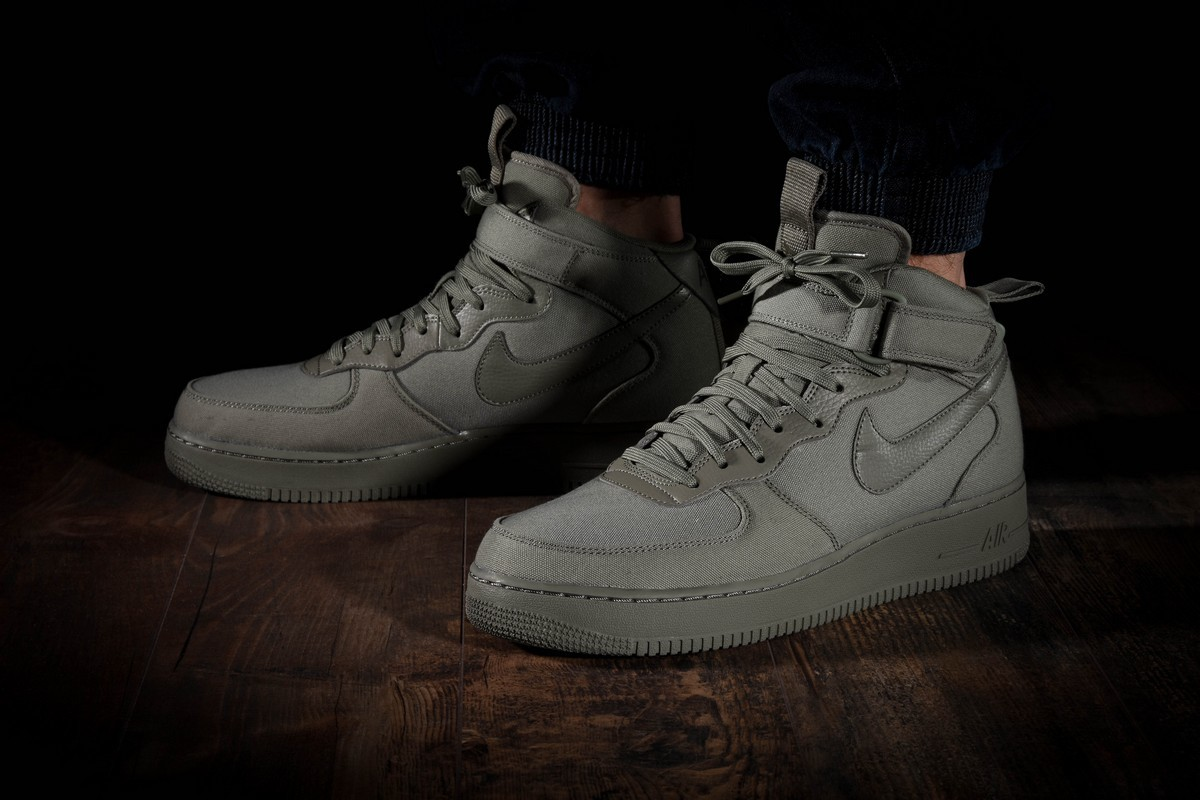 NIKE AIR FORCE 1 MID '07 CANVAS