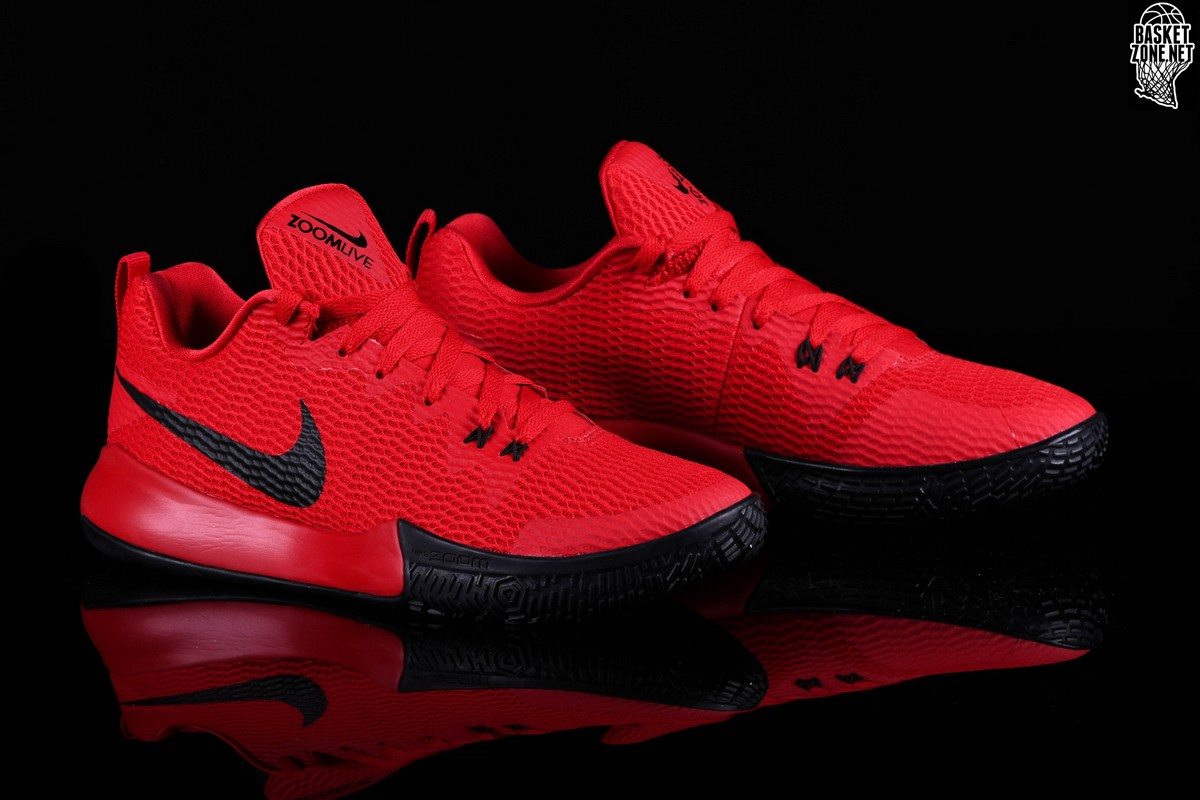 the best attitude f5c5e 1e716 NIKE ZOOM LIVE II RED BLACK