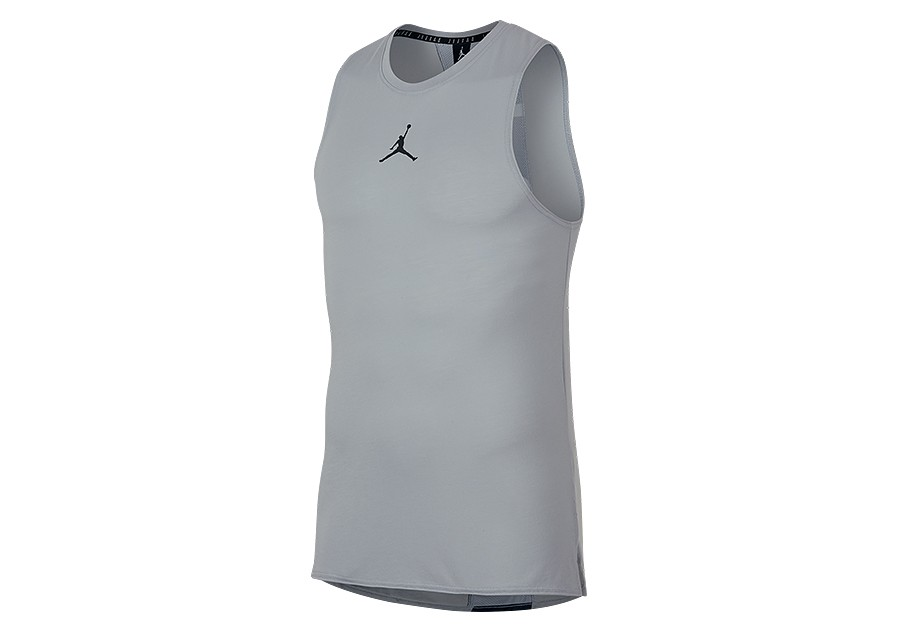 sale retailer ee7ad 4409c NIKE AIR JORDAN DRY 23 ALPHA TOP WOLF GREY price €27.50   Basketzone.net