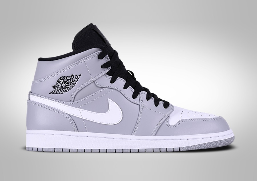 new product 0ad78 bea17 NIKE AIR JORDAN 1 RETRO MID WOLF GREY per 997,50SEK ...