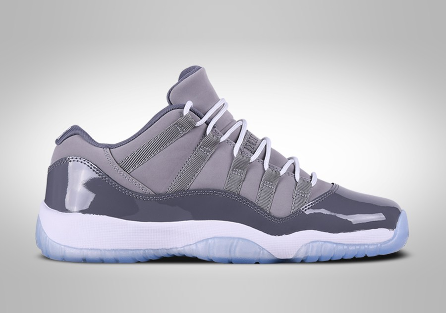fbea2bfa9fd0 NIKE AIR JORDAN 11 RETRO LOW COOL GREY BG price €127.50