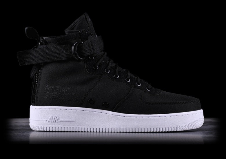 competitive price a202d 01c4f NIKE SF AIR FORCE 1 MID BLACK