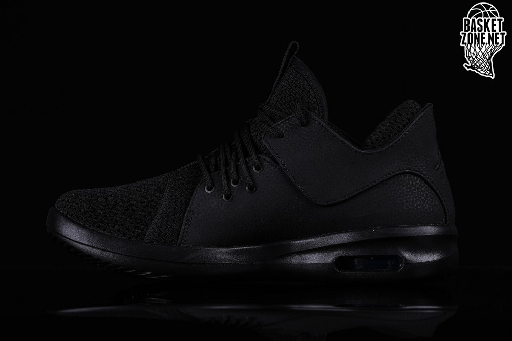 reputable site 25701 106bf NIKE AIR JORDAN FIRST CLASS TRIPLE BLACK