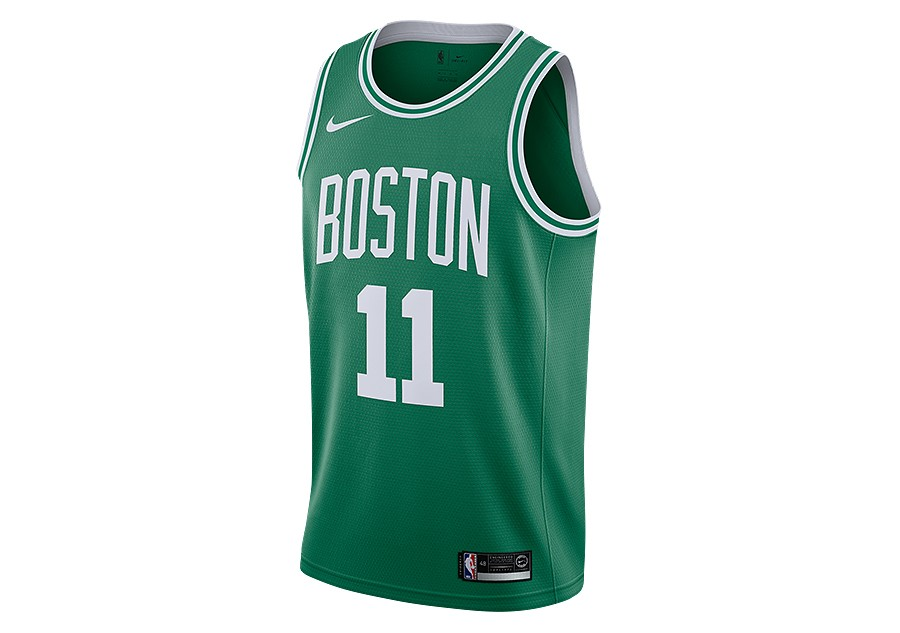 f38b26d02 NIKE NBA BOSTON CELTICS KYRIE IRVING ROAD SWINGMAN JERSEY CLOVER price  €59.00