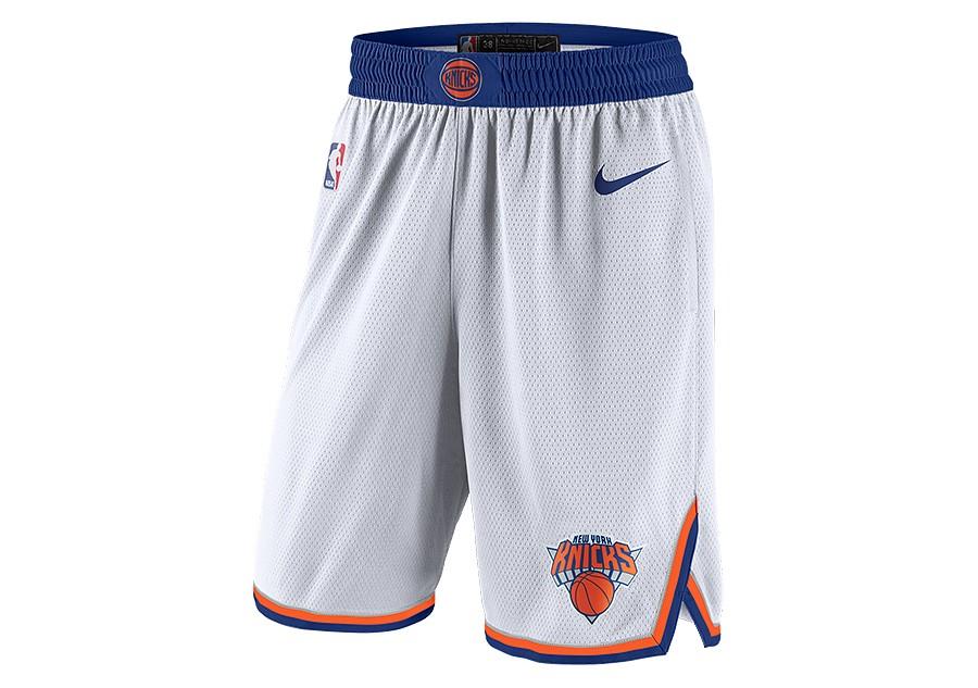 fbfd1959 NIKE NBA NEW YORK KNICKS SWINGMAN HOME SHORTS WHITE price €62.50    Basketzone.net