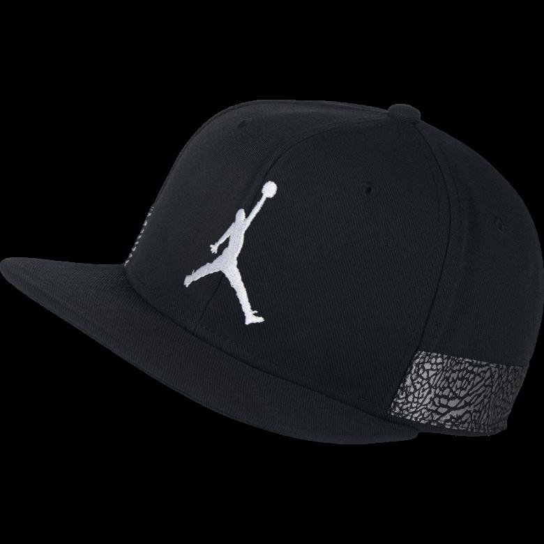 13471c13234 AIR JORDAN JUMPMAN PRO AJ 3 CAP. BLACK. £30.00
