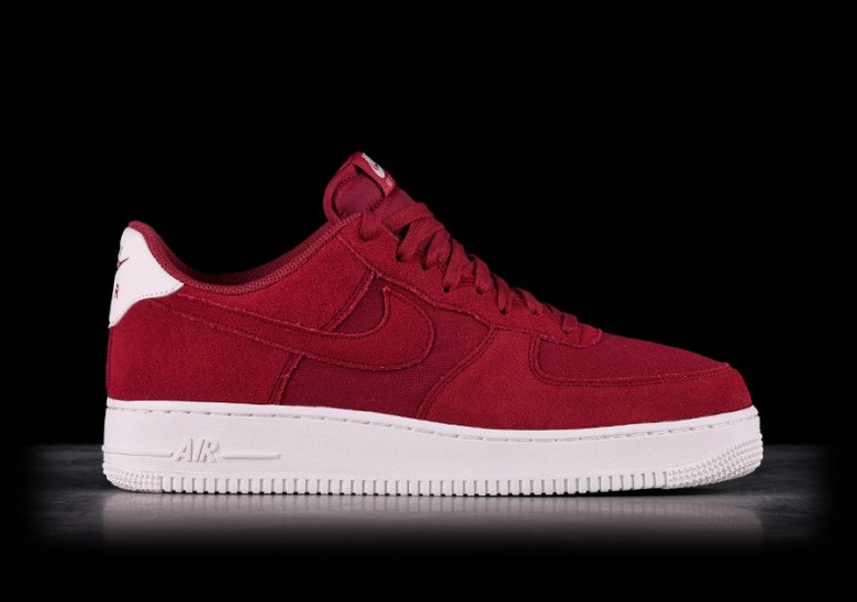innovative design ac5ed f28dd NIKE AIR FORCE 1 '07 SUEDE RED CRUSH price €102.50 | Basketzone.net