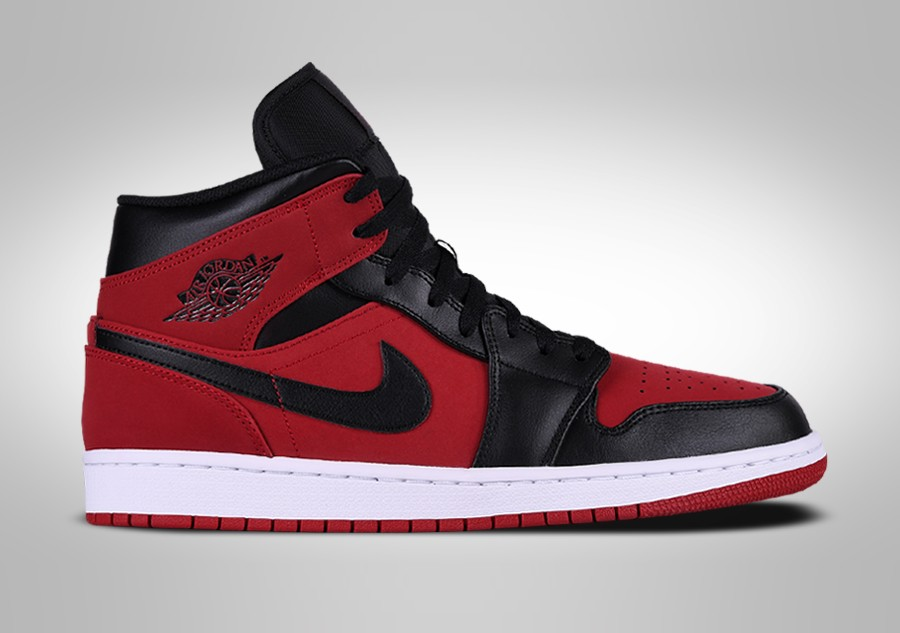 pretty nice 9957f 24585 NIKE AIR JORDAN 1 RETRO MID BANNED