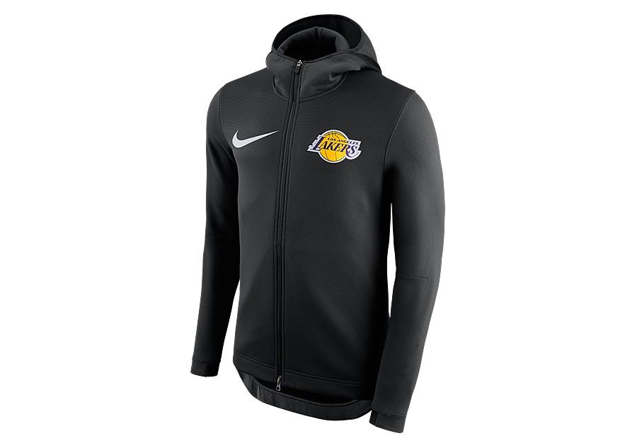 4063fd2be NIKE NBA LOS ANGELES LAKERS THERMAFLEX SHOWTIME HOODIE BLACK price €112.50