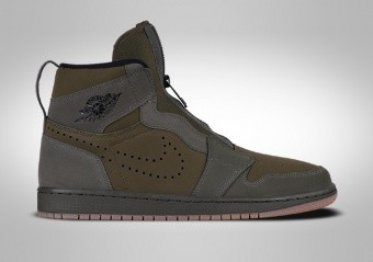 NIKE AIR JORDAN 1 HIGH ZIP MILITARY GREEN