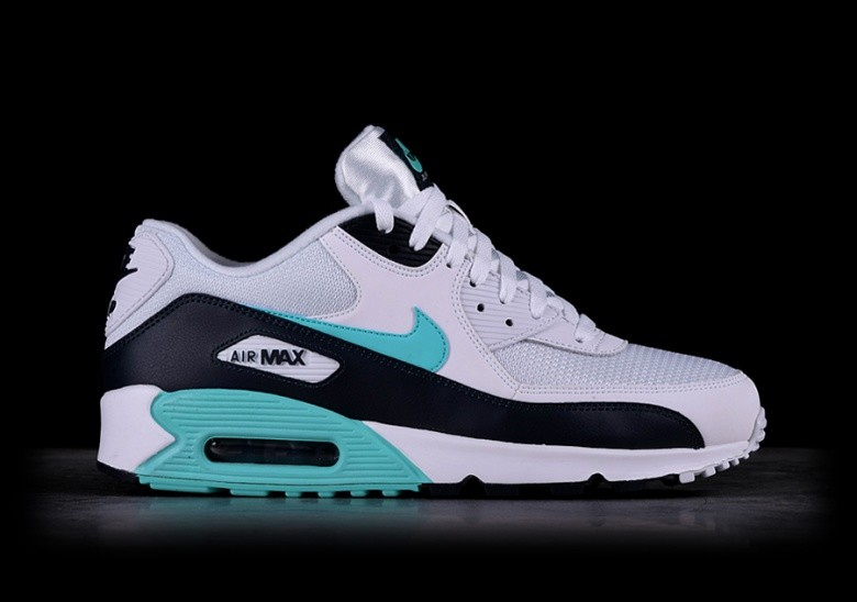 nike air max 90 essential mesh blanc green