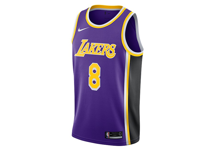 179d338a707 NIKE NBA LOS ANGELES LAKERS KOBE BRYANT SWINGMAN JERSEY FIELD PURPLE price  €92.50