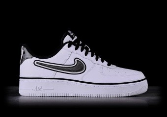 quality design c562c 0bece NIKE AIR FORCE 1  07 LV8 NBA SPORT PACK WHITE EDITION