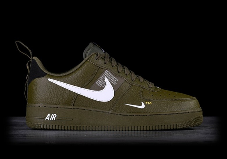 b2215f0eccf3eb NIKE AIR FORCE 1 '07 LV8 UTILITY OLIVE CANVAS für €115,00 ...