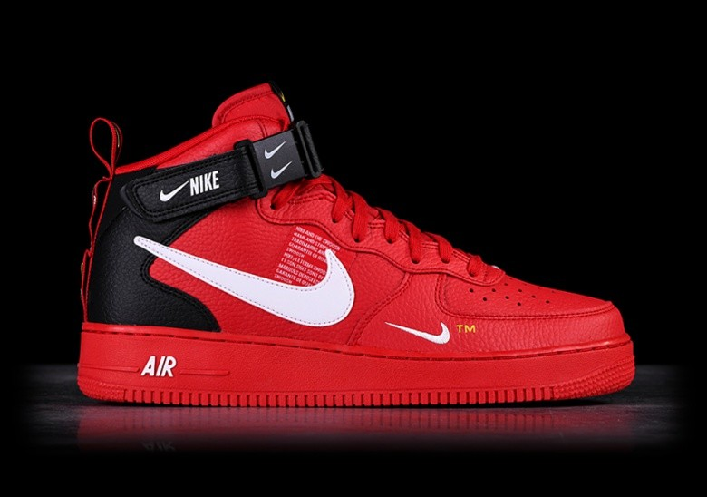 low priced 0448e 658a5 NIKE AIR FORCE 1 MID '07 LV8 UTILITY RED price €127.50 ...
